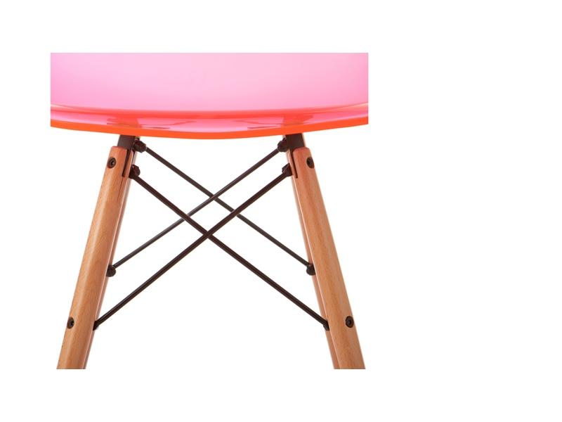 silla dsw rosa transparente. Black Bedroom Furniture Sets. Home Design Ideas