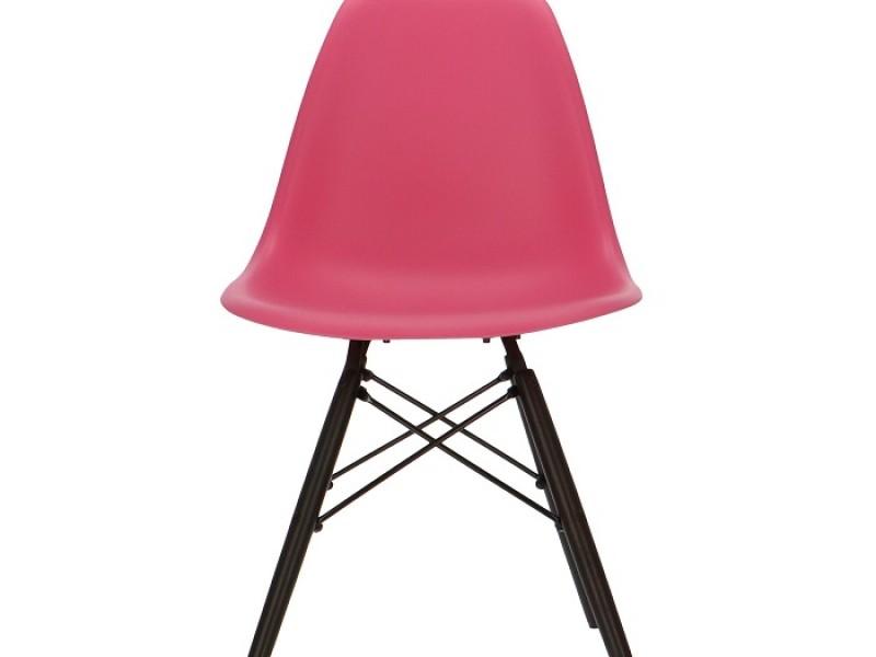 Image de la chaise design Silla Eames DSW - Rosa
