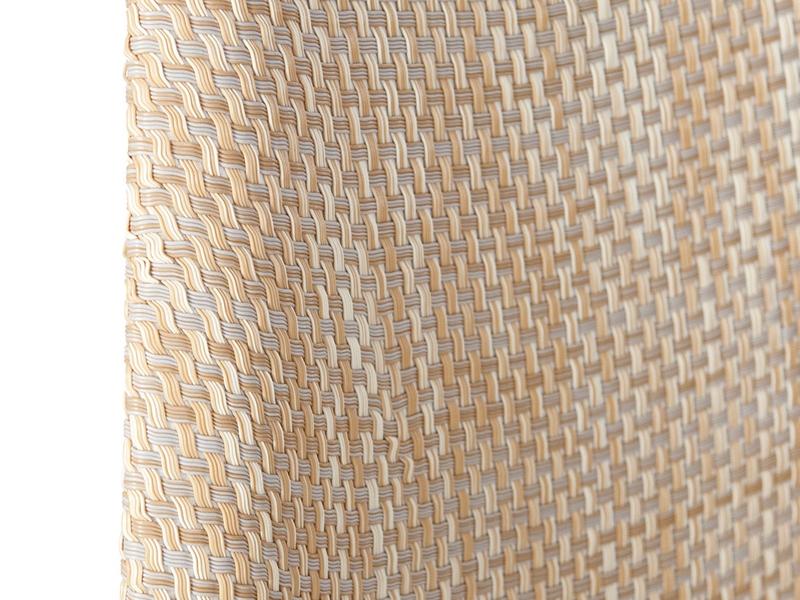 Image de la chaise design Silla Eames DSW Textura - Beige