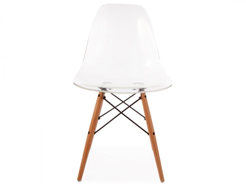 silla dsw transparente. Black Bedroom Furniture Sets. Home Design Ideas