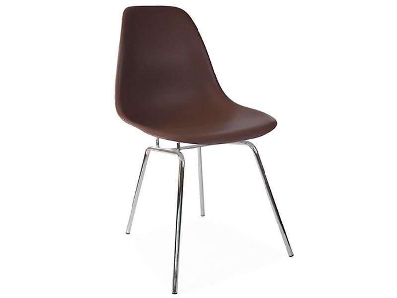 Image de la chaise design Silla Eames DSX - Café