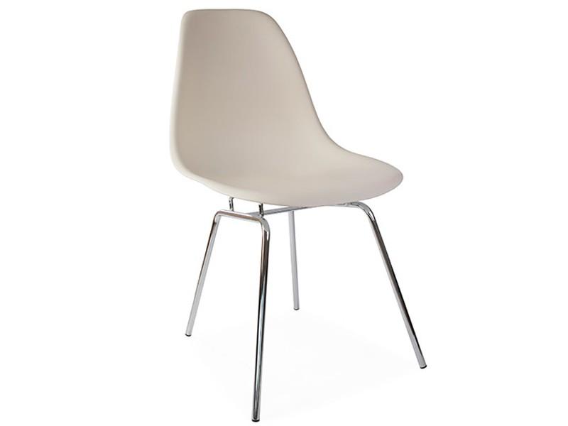 Image de la chaise design Silla Eames DSX - Crema