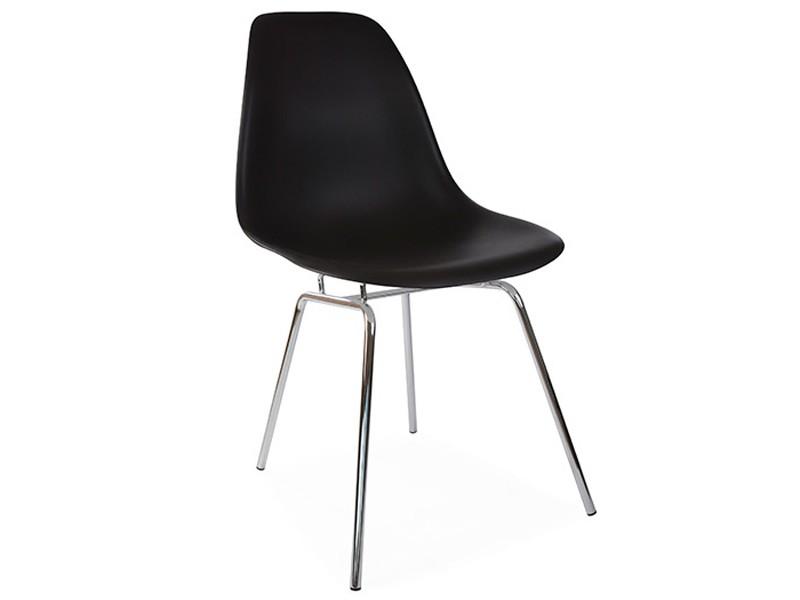 Image de la chaise design Silla Eames DSX - Negro