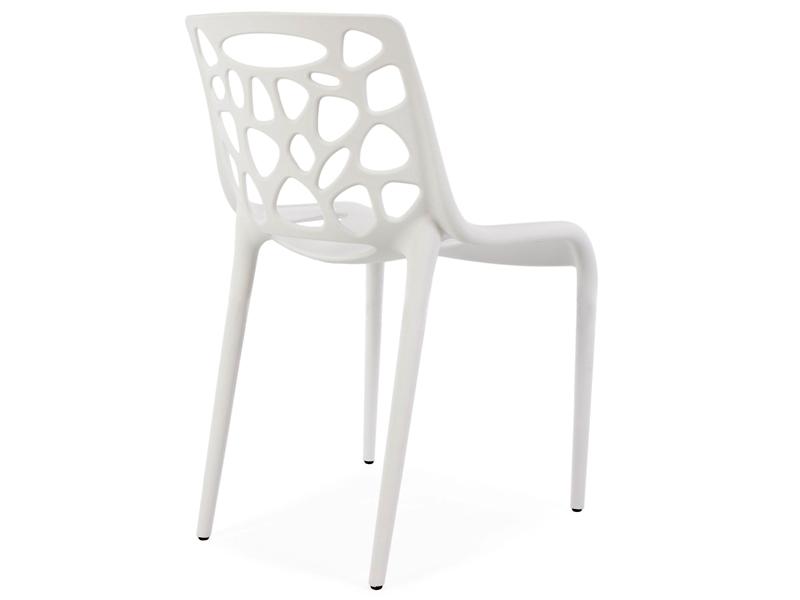 Image de la chaise design Silla Elf - Blanco