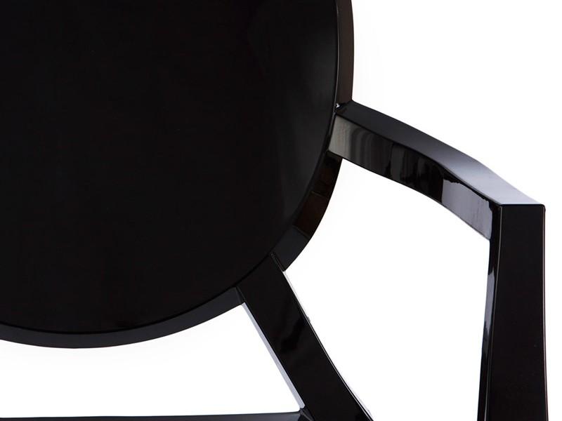 Image de la chaise design Silla Louis Ghost - Negro