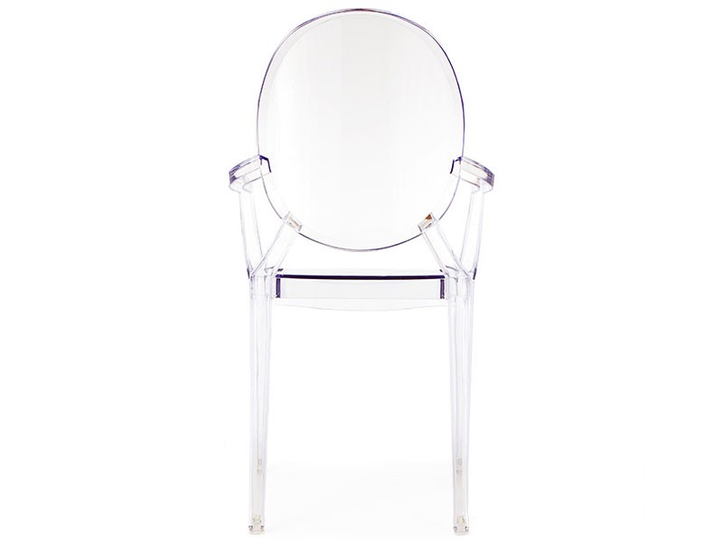 Image de la chaise design Silla Louis Ghost- Transparente