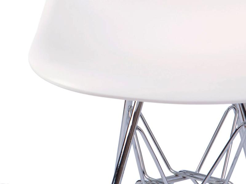 Image de la chaise design Silla Niño Eames DSR - Blanco