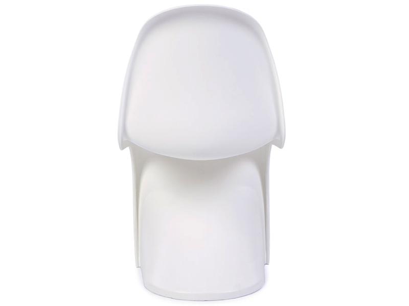Image de la chaise design Silla Niño Panton - Blanca