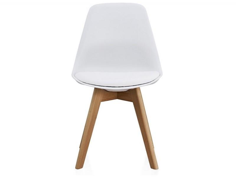 Image de la chaise design Silla Orville Milou - Blanco