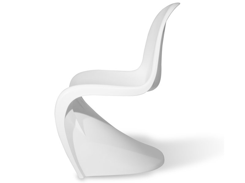 Image de la chaise design Silla Panton - Blanco