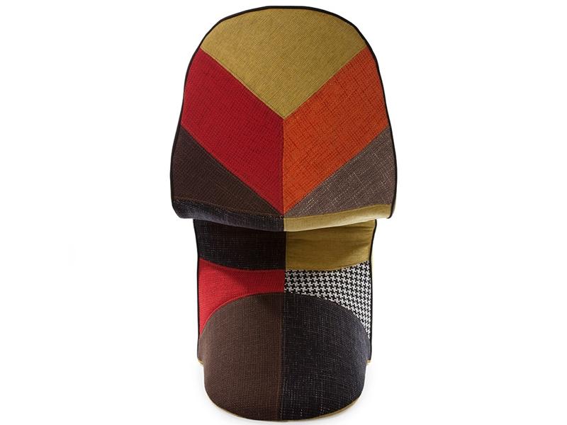 Image de la chaise design Silla Panton - Patchwork