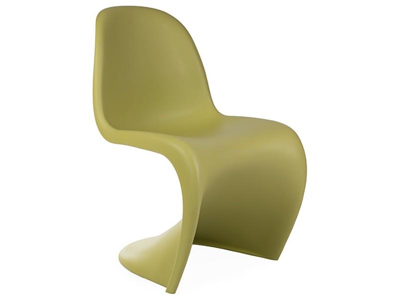 Image de la chaise design Silla Panton - Verde