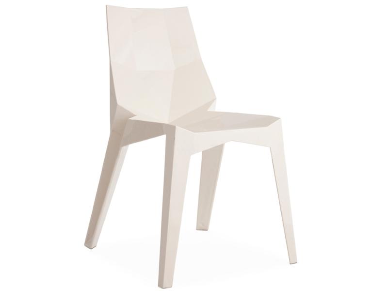 Image de la chaise design Silla The Shard - Blanco