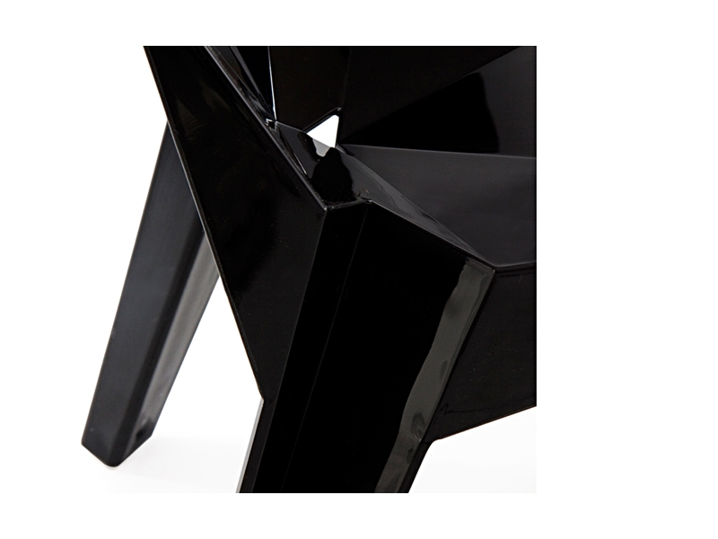 Image de la chaise design Silla The Shard - Negro