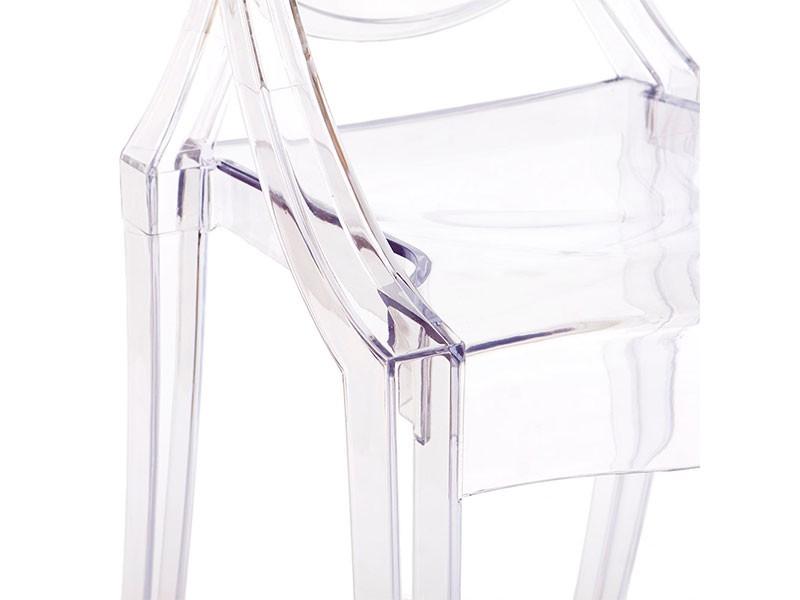 Image de la chaise design Silla Victoria Ghost- Transparente