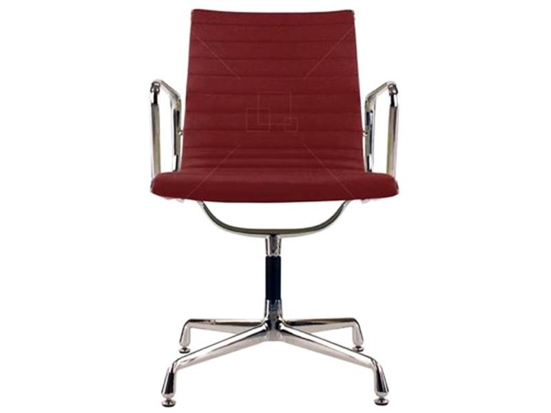 Image de la chaise design Silla visitante EA108 - Rojo oscuro