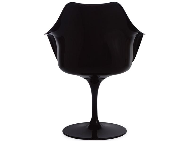 Image de la chaise design Sillón Tulip Saarinen - Negro