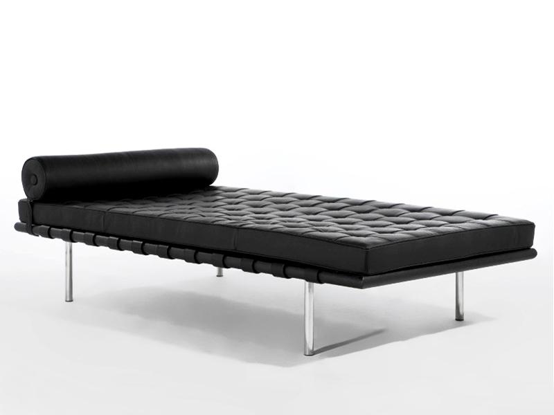 Image de la chaise design Sofá cama Barcelona 200 cm - Negro