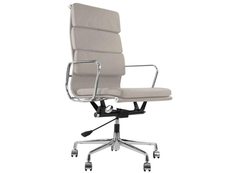 Image de la chaise design Soft Pad COSY Office Chair 219 - Gris claro