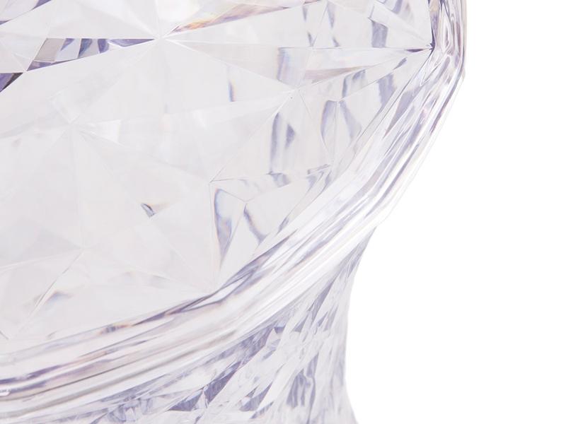 Image de la chaise design Taburete Ghost- Transparente