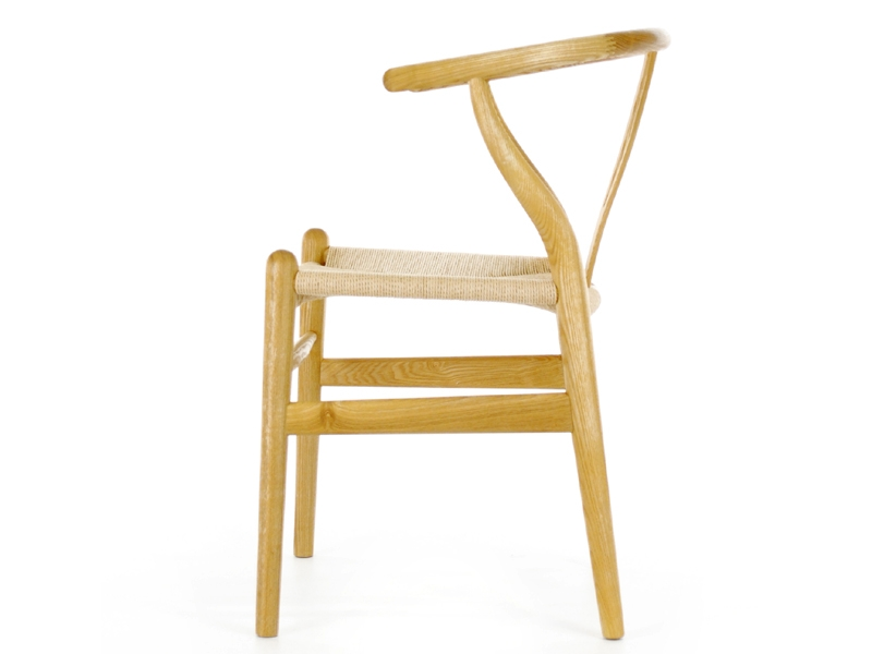 Image de la chaise design Wegner Silla Wishbone CH24 - Natural