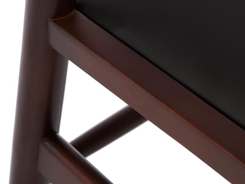 Image de la chaise design Wegner Silla Wishbone Y - Maron/Negro