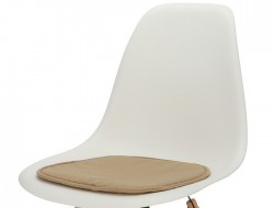Image de la chaise design Cojín eames - Marrón claro