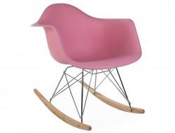 Image de la chaise design Eames rocking chair RAR - Rosa