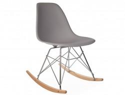 Image de la chaise design Eames rocking chair RSR - Gris ratón