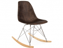 Image de la chaise design Eames RSR Textura - Cacao