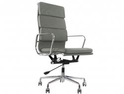 Image de la chaise design Eames Soft Pad EA219 - Gris
