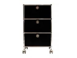 Image de la chaise design Mobiliario de oficina - AMMP301 negro