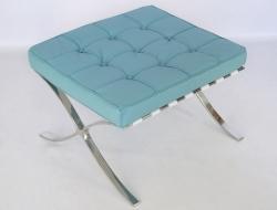 Image de la chaise design Ottoman Barcelona - Azul cielo