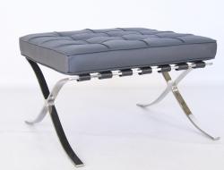 Image de la chaise design Ottoman Barcelona - Gris