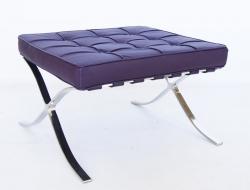 Image de la chaise design Ottomane Barcelona - Púrpura