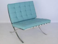 Image de la chaise design Silla Barcelona - Azul cielo