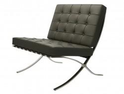Image de la chaise design Silla Barcelona - Grigio