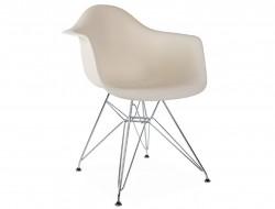 Image de la chaise design Silla DAR - Crema