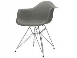 Image de la chaise design Silla DAR - Gris