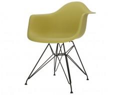 Image de la chaise design Silla DAR - Verde oliva