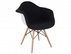 Image de la chaise design Silla DAW acolchada lana - Gris