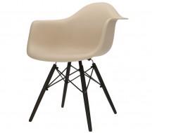 Image de la chaise design Silla DAW - Gris beige