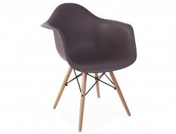 Image de la chaise design Silla DAW - Taupe