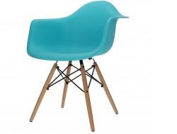 Image de la chaise design Silla DAW - Turchesa