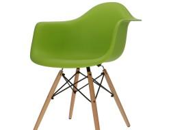 Image de la chaise design Silla DAW - Verde manzana