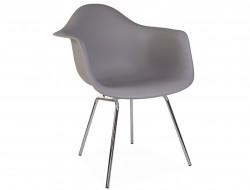 Image de la chaise design Silla DAX - Gris ratón
