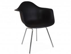 Image de la chaise design Silla DAX - Negro