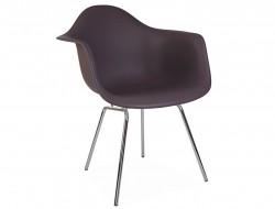 Image de la chaise design Silla DAX - Taupe