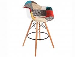 Image de la chaise design Silla de bar DAB - Patchwork