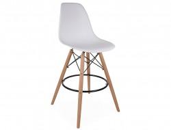 Image de la chaise design Silla de bar DSB - Blanco